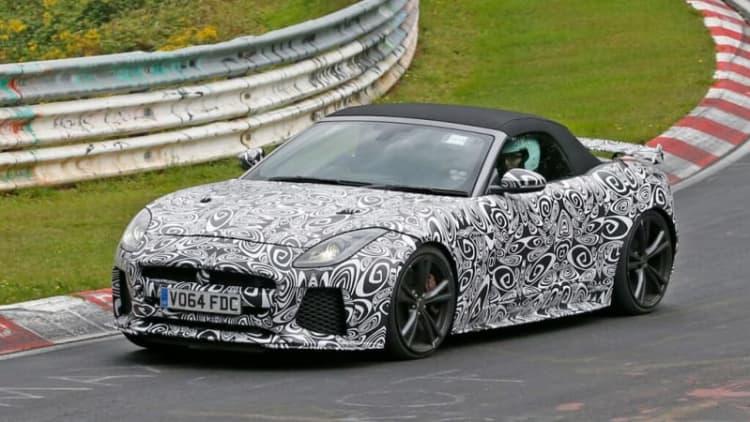 Jaguar F-Type SVR set to go topless
