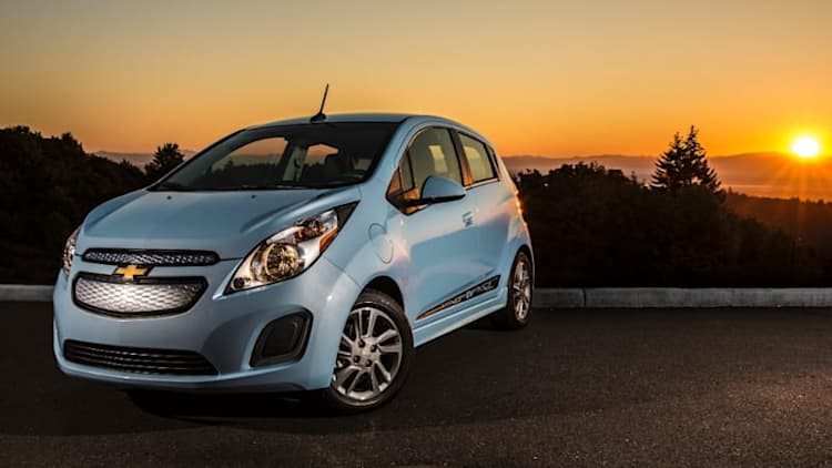 GM drops price of Spark EV to $25,995; lease to $139/month