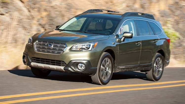 2016 Subaru Outback, Legacy recalled for driveshaft problem