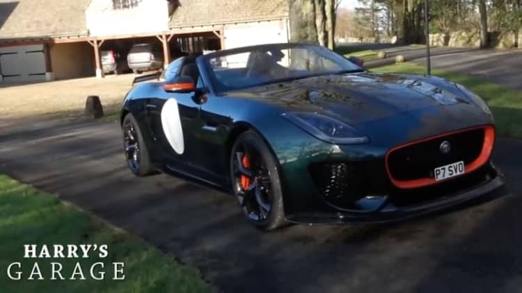 The first Jaguar Project 7 is the new kid in Harry's Garage