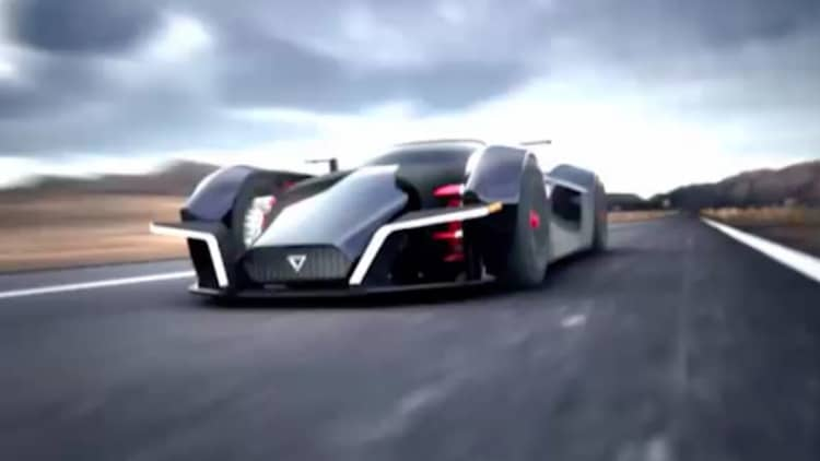 Dendrobium is an electric hypercar from Singapore set to debut in Geneva