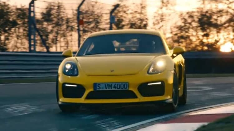 Porsche Cayman GT4 spot has us reaching for our driving gloves
