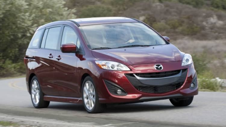 Mazda5 will officially die this year