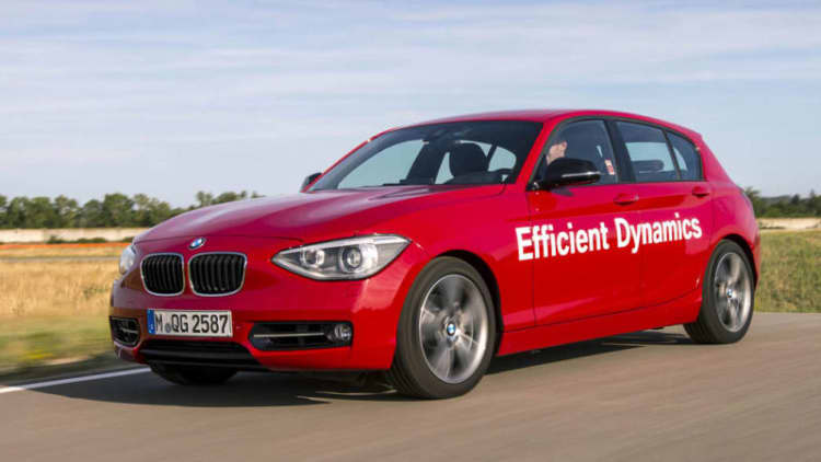 BMW 1 Series prototype packs direct water injection
