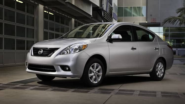 Nissan recalls 320K Versas in North America for faulty springs