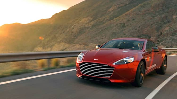 Enterprise adds Aston Martin DB9, Rapide S to rental fleet