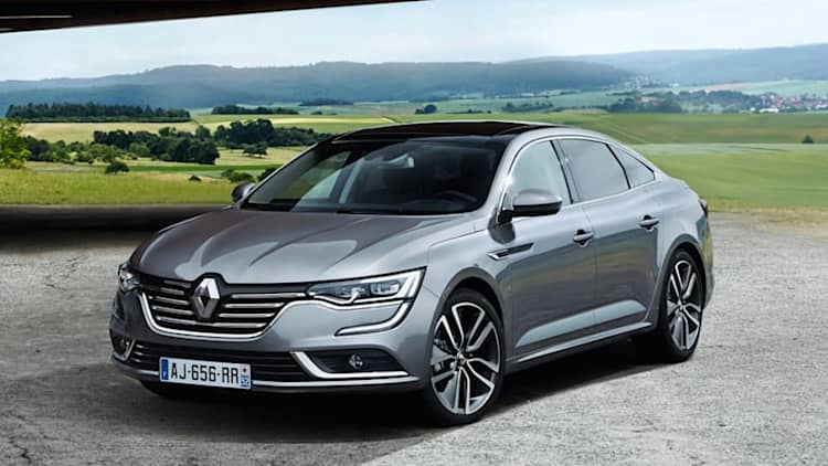 Renault's new Talisman smacks of Maxima [UPDATE]