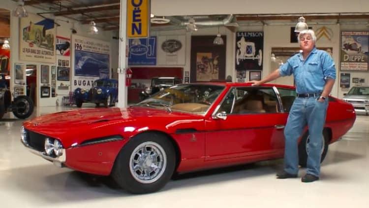 Leno's Lamborghini Espada is a freshly restored super-wagon