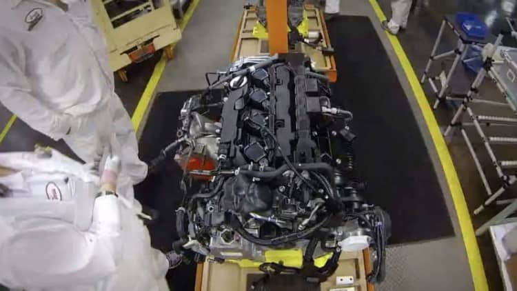 Euro Honda Civic Type R engines are American-made
