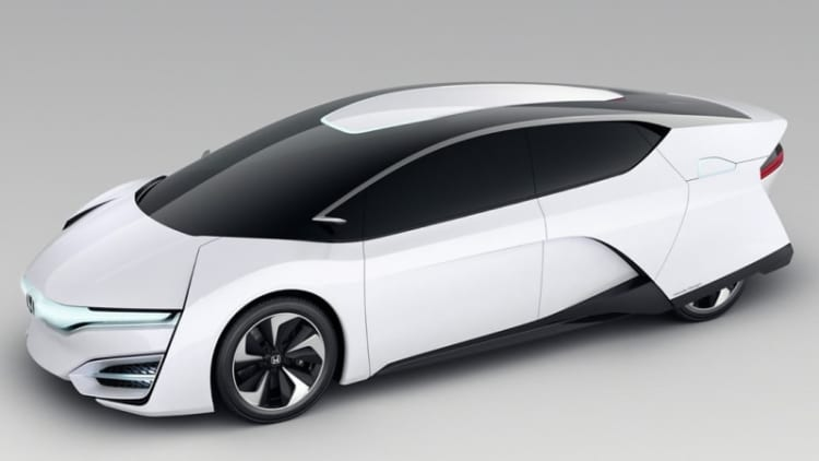 SAE World Congress: Honda FCEV fuel cell stack has cells just 1 mm thin