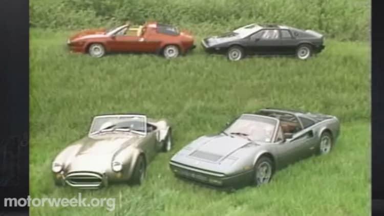 The exotic '80s: Ferrari, Lamborghini, Lotus and the Porsche 959