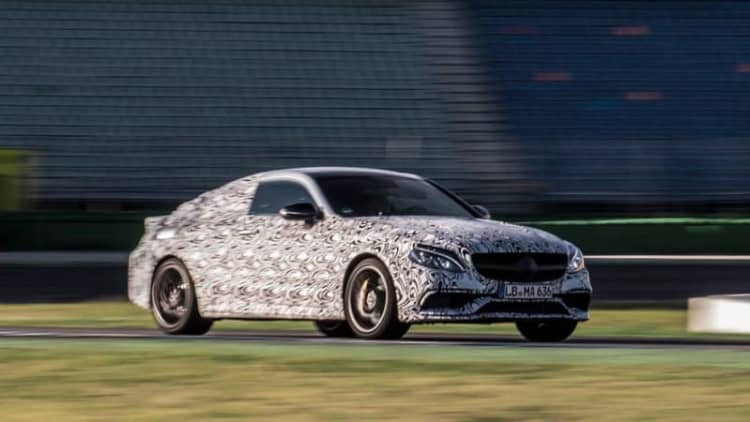 Mercedes-AMG previews new C63 Coupe ahead of August 19 reveal