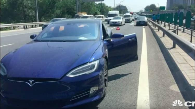Latest Tesla Autopilot-related crash occurs in China