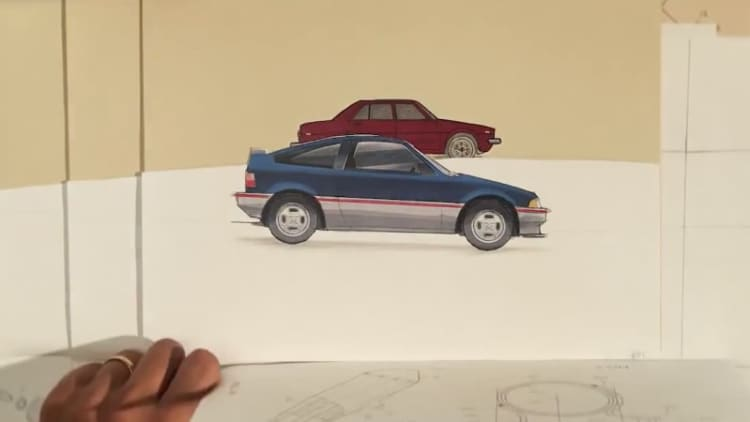 Check out Honda's sweet stop-motion 'Power of Dreams' ad