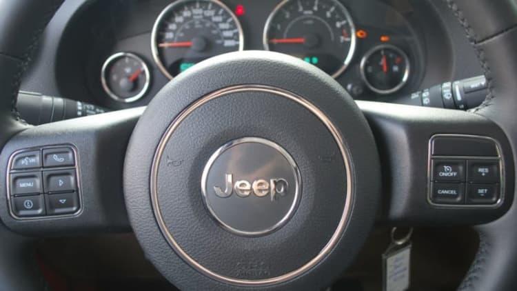 Jeep to stop using bad Takata airbag inflators next week