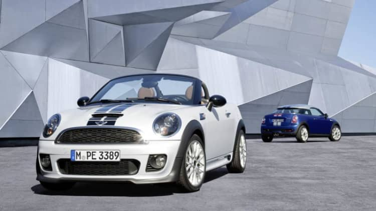 Mini says goodbye to Coupe and Roadster