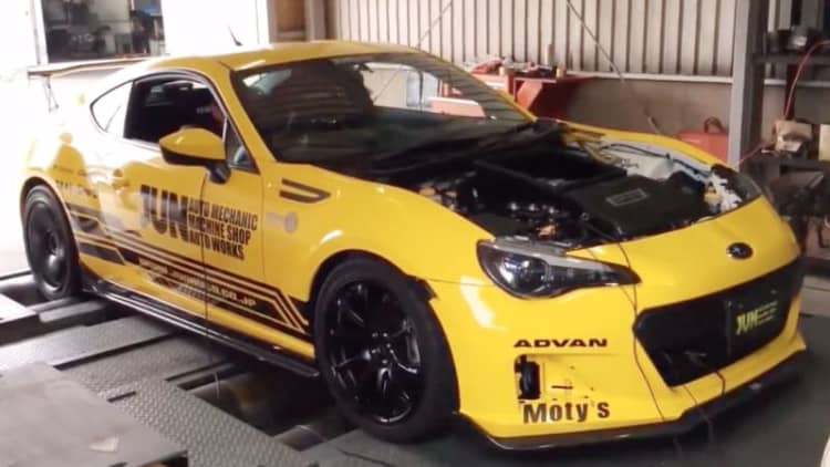 Subaru BRZ with 362-hp, 2.4-liter V8 is the best thing you'll hear today