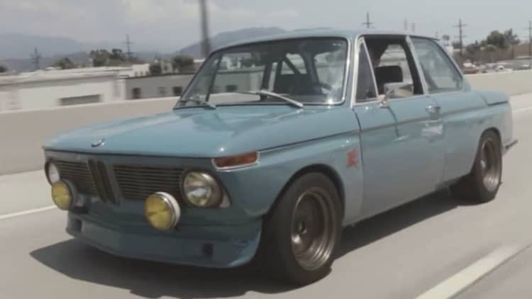 1971 BMW 2002 is a car designer's car