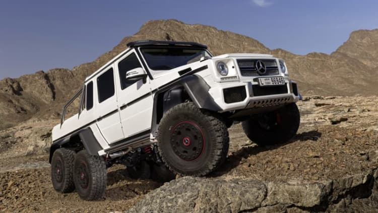 Mercedes completes production of G63 AMG 6x6
