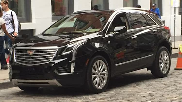 2017 Cadillac XT5 will debut in Dubai