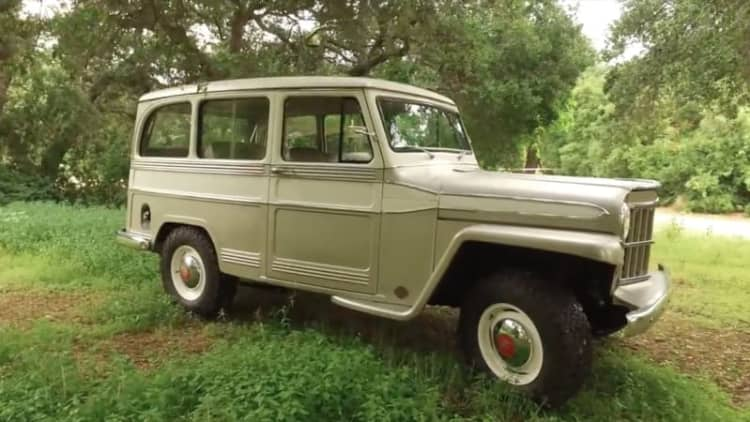 1960 Willys Overland Wagon is Icon's latest awesome Derelict