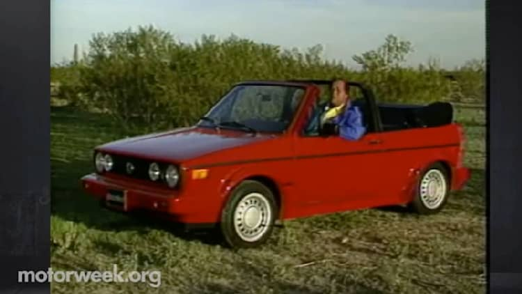 MotorWeek recalls the glory days of the VW Cabriolet