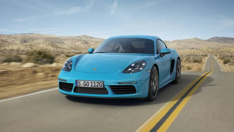 Porsche 718 Cayman gets new turbocharged engines