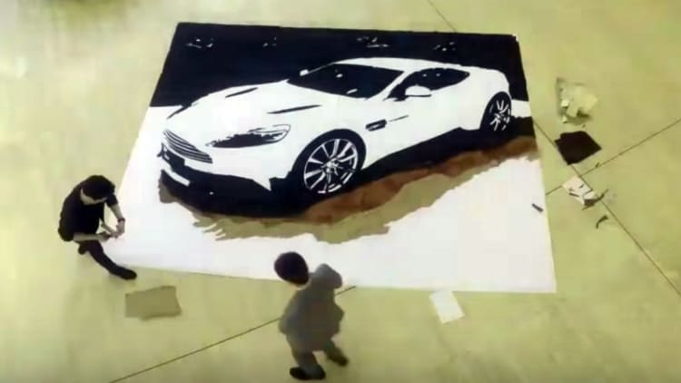 Aston Martin find unique way to recycle scraps of leather