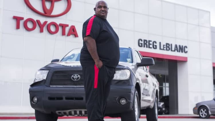 Million-mile Toyota Tundra owner given brand new truck