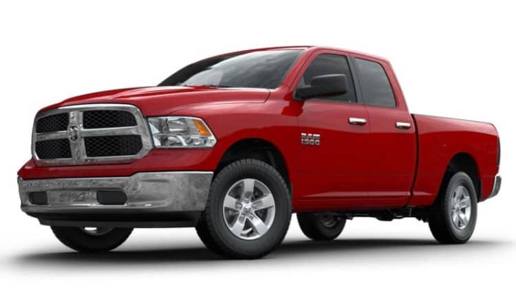 FCA recalls 2 million Ram trucks over airbag issues