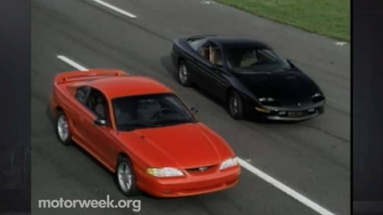 MotorWeek turns back the clock with the 1994 Mustang and Camaro
