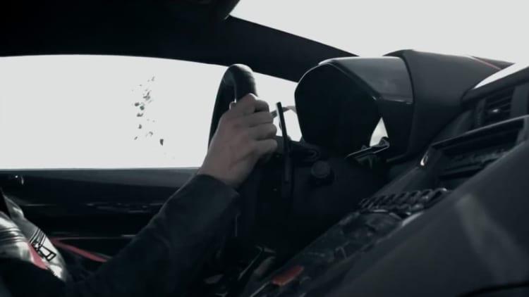 Lamborghini teases something 'Reactive' for Geneva