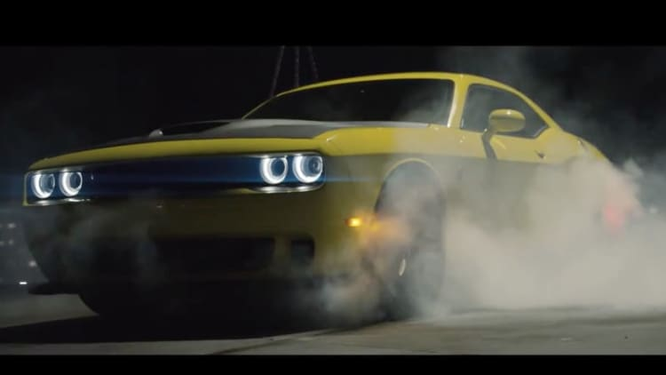Dodge Challenger Hellcat drift video is pure horsepower porn