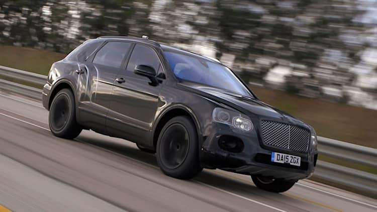 Bentley Bentayga will be the world's fastest SUV