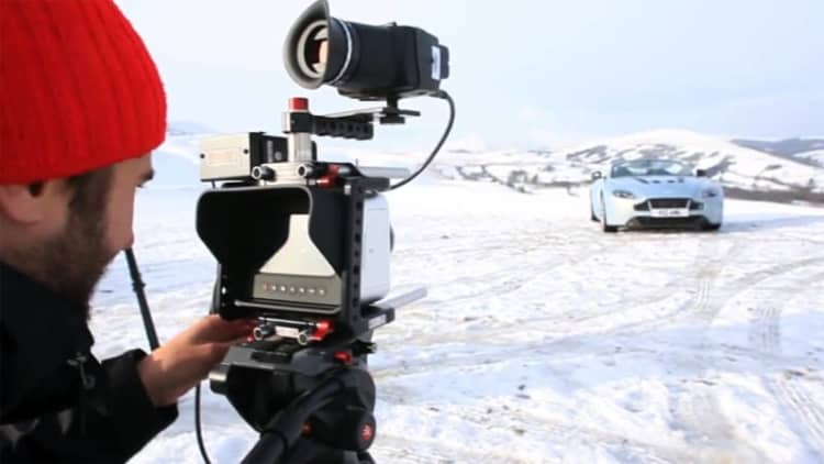 Xcar takes us behind the scenes of Aston Vantage video shoot