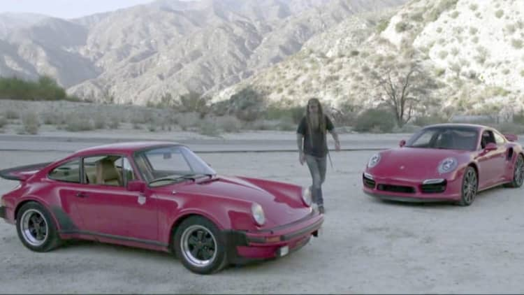 Magnus Walker drives 911 Turbos old and new
