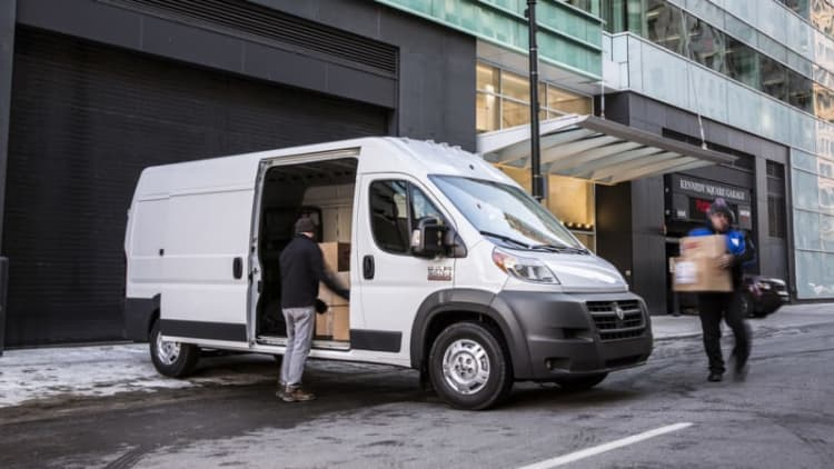 US Postal Service going Ram ProMaster