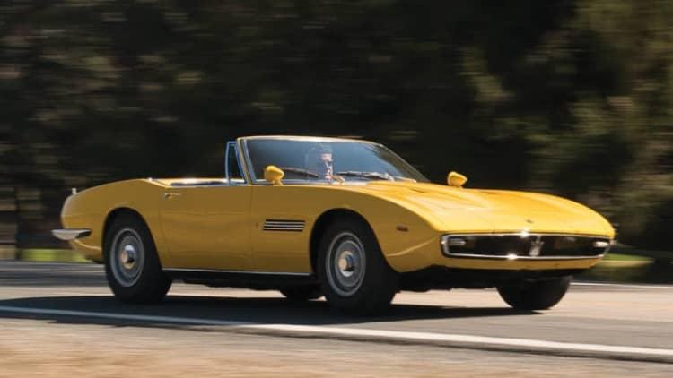 Bid on the very first Maserati Ghibli Spyder [w/video]