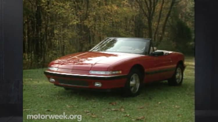 MotorWeek remembers the nearly forgotten Buick Reatta