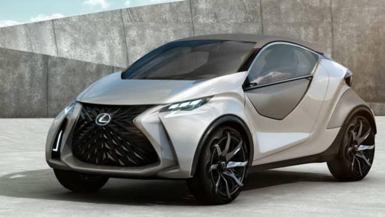 Lexus LF-SA Concept leaks its mini self ahead of Geneva