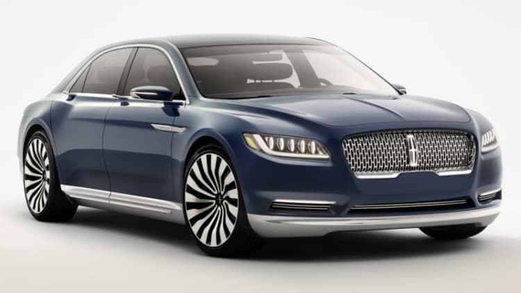 Bentley designer calls Lincoln Continental concept a Flying Spur 'copy' [w/poll]