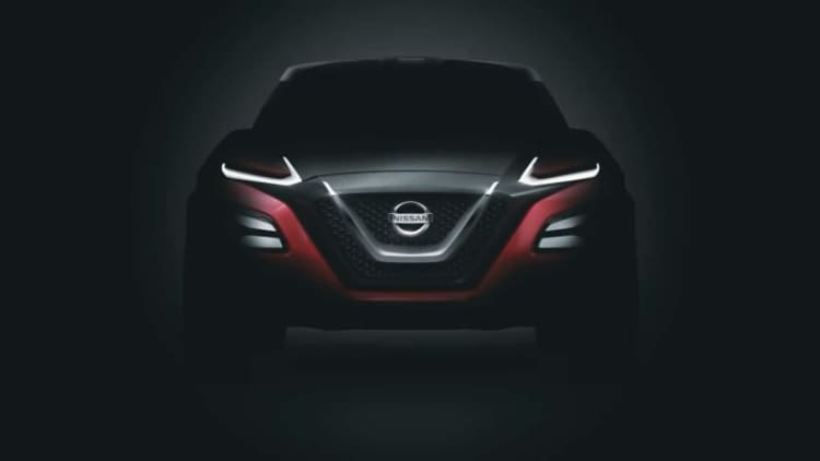 Nissan teases Gripz concept inspired by 240Z rally cars
