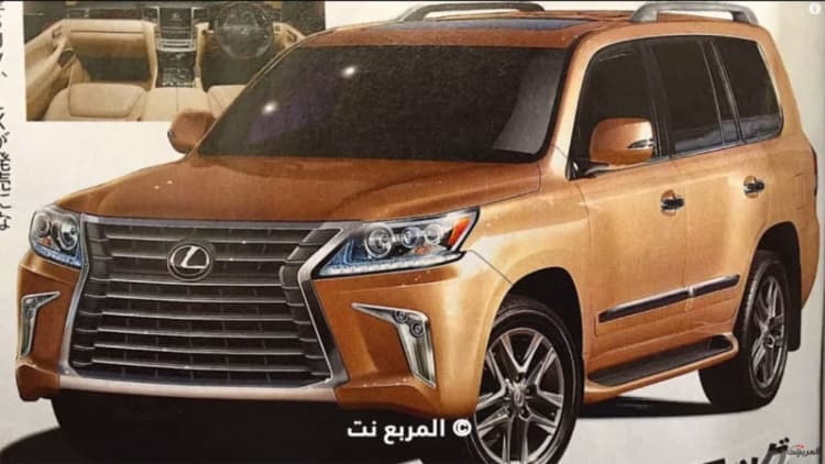 Are you the 2016 Lexus LX 570? [w/video]