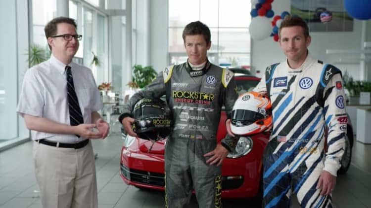 Tanner Foust and Scott Speed get VW internships