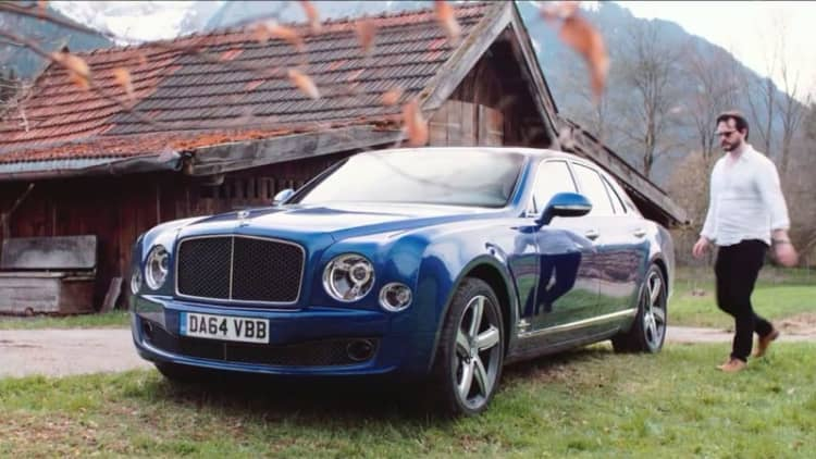 Xcar luxuriates in the Bentley Mulsanne Speed