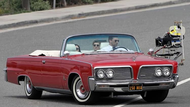 You can own Don Draper's 1964 Imperial Crown Convertible