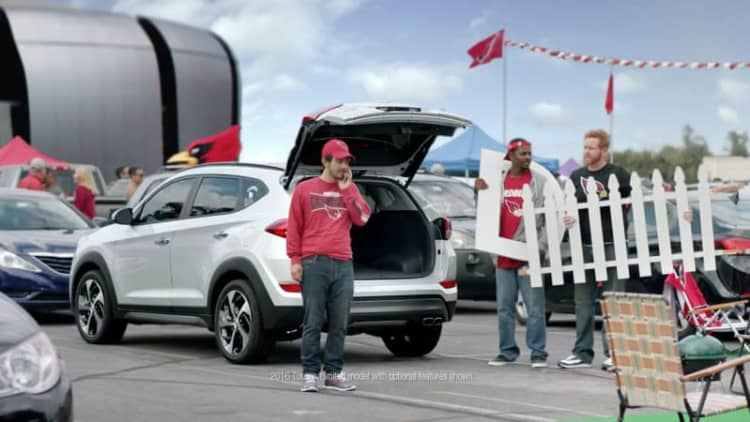 Hyundai kicks off NFL sponsorship with 'D-Gate'