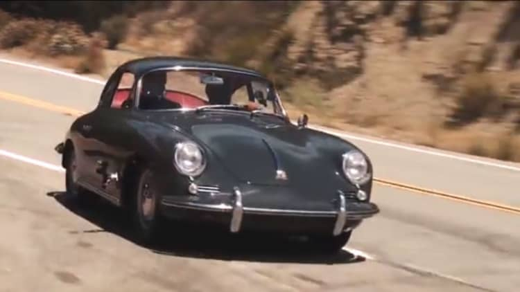Jay Leno takes an in-depth look at a 1964 Porsche 356C restomod