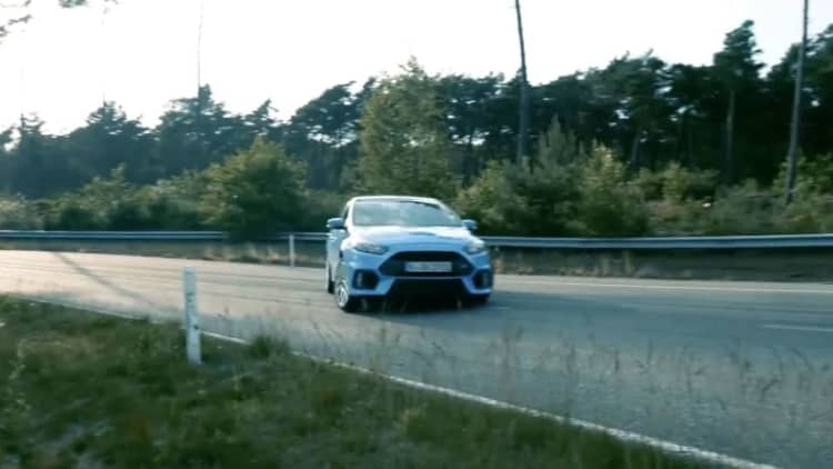 Focus RS shreds in prep for Goodwood hillclimb