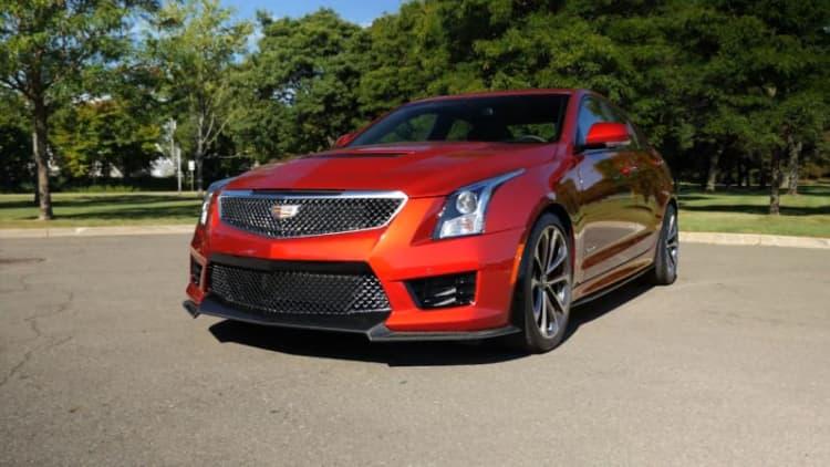2016 Cadillac ATS-V Sedan Beauty-Roll